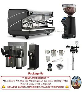 Simonelli Appia Ii Commercial Espresso Machine Coffee Shop Package Training