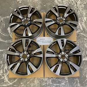 Infiniti M56 M37 Q70 20 inch Split 5 spoke Aluminum Alloy Wheel Set 4 D03001mu9j