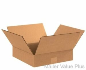 25 14 X 14 X 4 Shipping Boxes Packing Moving Storage Cartons Mailing Box