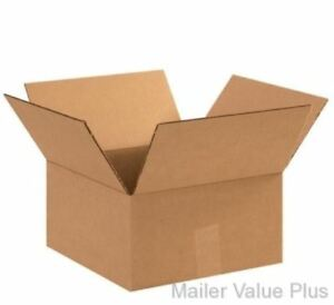 25 13 X 13 X 6 Shipping Boxes Packing Moving Cartons Cardboard Mailing Box