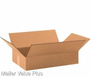 25 24 X 12 X 4 Corrugated Shipping Boxes Packing Storage Cartons Cardboard Box