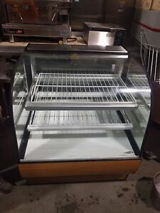 Federal Cgd3642 36 Full Service Bakery Case W Curved Glass 3 Levels 860