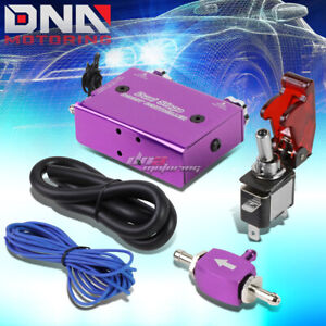 Universal Dual Stage Turbo charger Manual Bypass Psi Boost Controller switch Pur