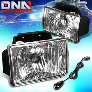 For 04 12 Chevy Colorado gmc Canyon Chrome Clear Oe Bumper Fog Light Lamp bulb