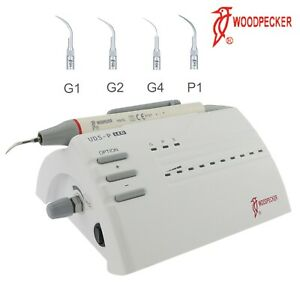 Woodpecker Dental Piezo Electric Ultrasonic Scaler Handpiece Uds p Led Hw 5l Ems