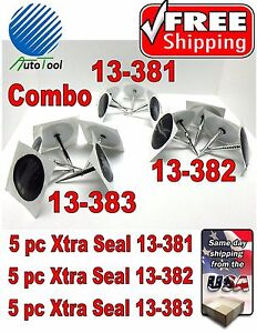 Xtra Seal Universal Combo Combi Tire Plug Patch Repair 5 Ea13 381 13 382 13 383