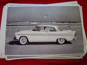1956 Plymouth Fury Hardtop 11 X 17 Photo Picture