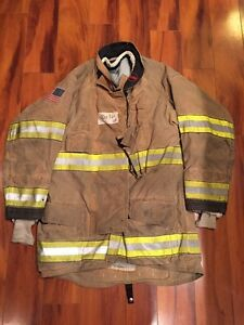 Firefighter Globe Turnout Bunker Coat 40x36 G xtreme Halloween Costume