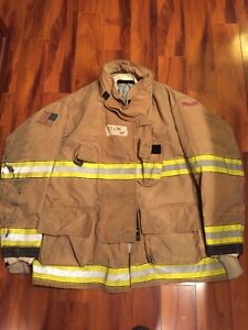 Firefighter Globe Turnout Bunker Coat 57x35 G xtreme Halloween Costume