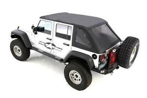 Smittyblit 9083235 07 17 Wrangler Bowless Soft Top Combo Oem Replacement