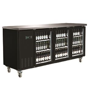 New Maxx Cold 90 Back Bar Cooler Glass Front Mxbb90g Free Shipping