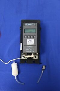 Met One pacific Scientific 227a 0 5um 2ch Handheld Laser Particle Counter