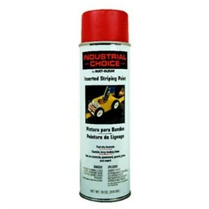 Rustoleum 1665 838 18 Oz Red Industrial Choice Inverted Stripping Paint Spray