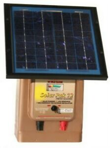 12v Solar Fencer Single Partno Maxb64877 By Parker Mc Crory Mfg Co