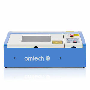 Omtech 40w 12 x 8 Co2 Laser Engraver Cutter Cutting Engraving Machine K40 Diy