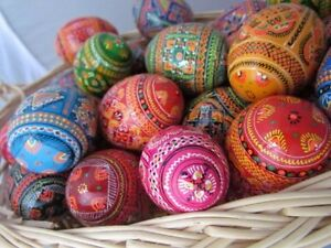 Easter Eggs Beautiful Crafted Traditional Kids Friendly Polish Russian 1 1 2