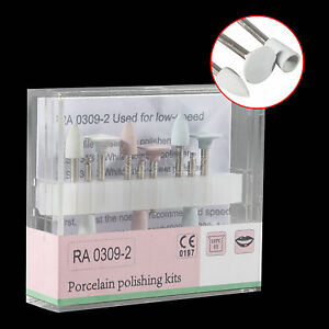 10 Ra 0309 Dental Composite Polishing Kit For Low Speed Handpiece Contra Angle