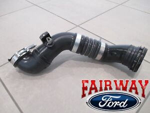 11 Thru 16 Super Duty Oem Ford 6 7 Diesel Turbo Intercooler Outlet Duct Hose New