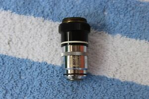 Zeiss Plan 100x With Aperture 1 25 0 8 Oil M l 160 Microscope Objective
