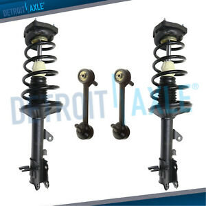 4pc Rear Struts Sway Bar Kit For 2001 2002 2003 2004 2005 2006 Hyundai Elantra