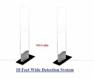 Wireless Combo Slim Acrylic Checkpoint Compatible Security System Tag Tool