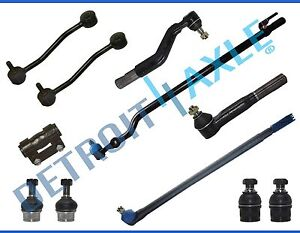 New 11pc Complete Front Suspension Kit For 1999 Ford F 250 F 350 Super Duty