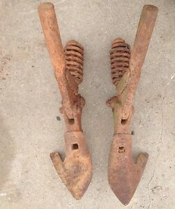 Pair Of Allis Chalmers Cultivator Shanks B C D10 D12 D14 D15 Wd