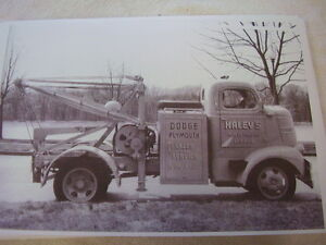 1939 Dodge Coe Tow Truck 11 X 17 Photo Picture