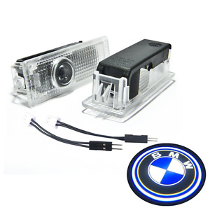 Bmw Door Led Logo Projector Ghost Shadow Lights Car Lighting Accessories 2pcs