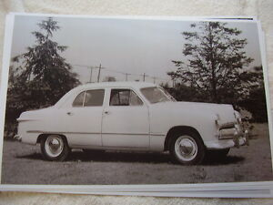 1949 Mercury Or Ford Canadian 11 X 17 Photo Picture