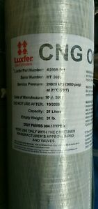New Luxfer A230a 001 Cng Tank Dot Certified 3 600 Psi 24820 Kpa 31 L