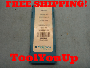 10pcs New Ingersoll Cde 323 L 022 In 2530 Inserts Cnc Tooling Machinist Shop