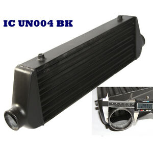 Black Universal Intercooler 27x7x2 5 2 5 o d Inlet And Outlet Tube And Fin