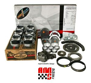 Chevy Gm Mercruiser 262 4 3l V6 Rebuild Kit Pistons Bearings Gaskets Oil Pump