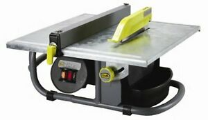 M d Building Products 48190 7 inch 3 4 Horse Power Portable Fusion Wet Saw