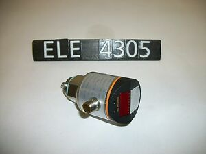 Ifm Lr3000 Electronic Level Sensor ele4305
