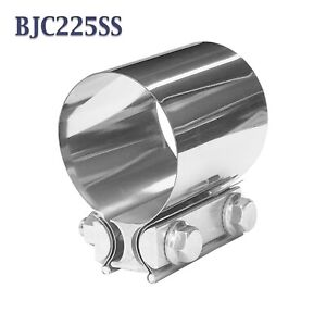 Es225ss 2 1 4 2 25 Torca Easyseal Stainless Butt Joint Band Exhaust Clamp