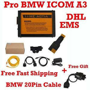 Fit For Bmw Icom A3 Obd2 Diagnostic Tool Hardware V1 38 Free Bmw 20pin Cable