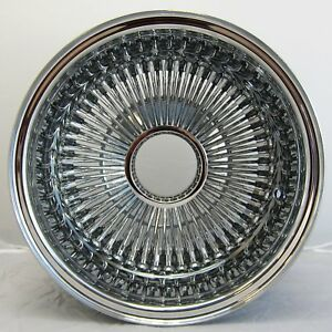 Nb 13x7 Rev 100 Spoke Wire Wheels Straight Lace All Chrome Rims Lowrider X1 L