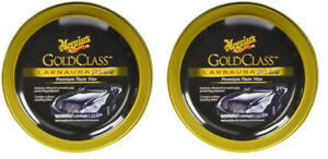 Meguiars Gold Class Carnauba Plus Premium Paste Wax 2 Pack Megg 7014 2pk