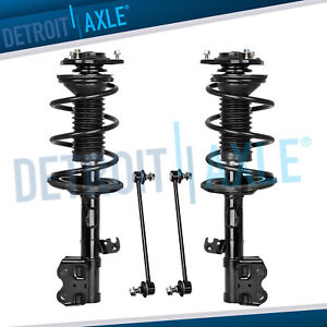 For 2004 2005 2006 2007 2008 2009 Toyota Prius Front Strut Sway Bar Links 4pc