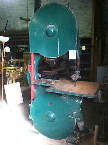 2000 Off 36 Tannewitz Band Saw P Model W resaw 25hp Thin Kerf bev Siding