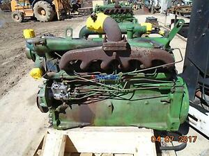 John Deere 329 Engine Complete Used Running 1618160yw Mdn 6329dh03 Bcn R55012