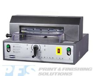 Challenge Spartan 150a Electric Paper Cutter With Power Clamp