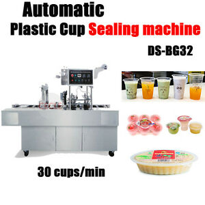 Automatic Plastic Cup Sealing Machine 30 Cups min