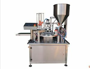 Automatic Plastic Cup Filling And Sealing Machine 30 Cups min