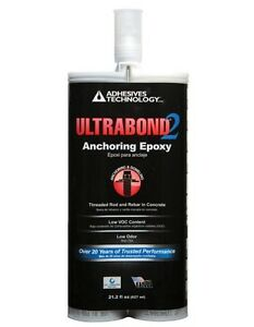 Ultrabond 2 Anchoring Epoxy With Nozzle
