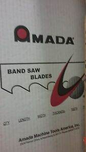 Amada Band Saw Blades 12 10 X 3 4 8 12t Mvglv Includes 5pcs Priced To Sell