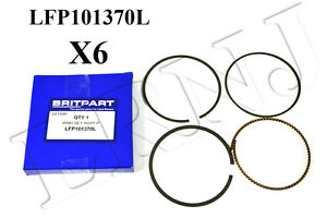 Land Rover Freelander 1 2 5l V6 2002 2005 Piston Ring Set Of 6 Part Lfp101370l