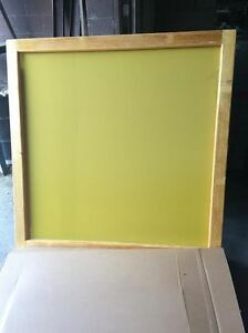 Silk Screen Frame 65x65 230 Yellow Mesh For Sign Makers